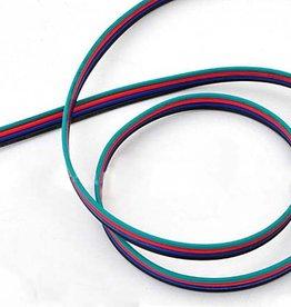 Fil électrique (RVB, 4 veines) par mètre