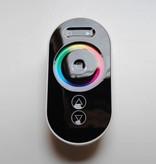RGB Controller für RGB LED Streifen mit Touch-Fernbedienung - Schwarz - 6 Key