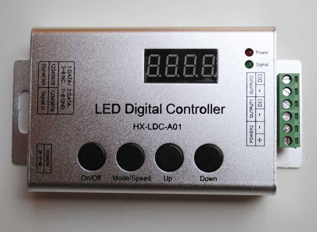 Contrôleur pour bande LED numérique avec télécommande