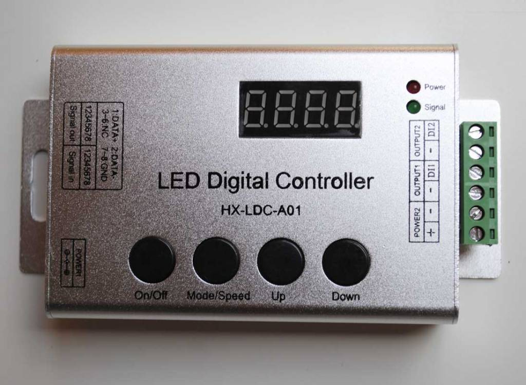 digital led strip controller with remote. Black Bedroom Furniture Sets. Home Design Ideas