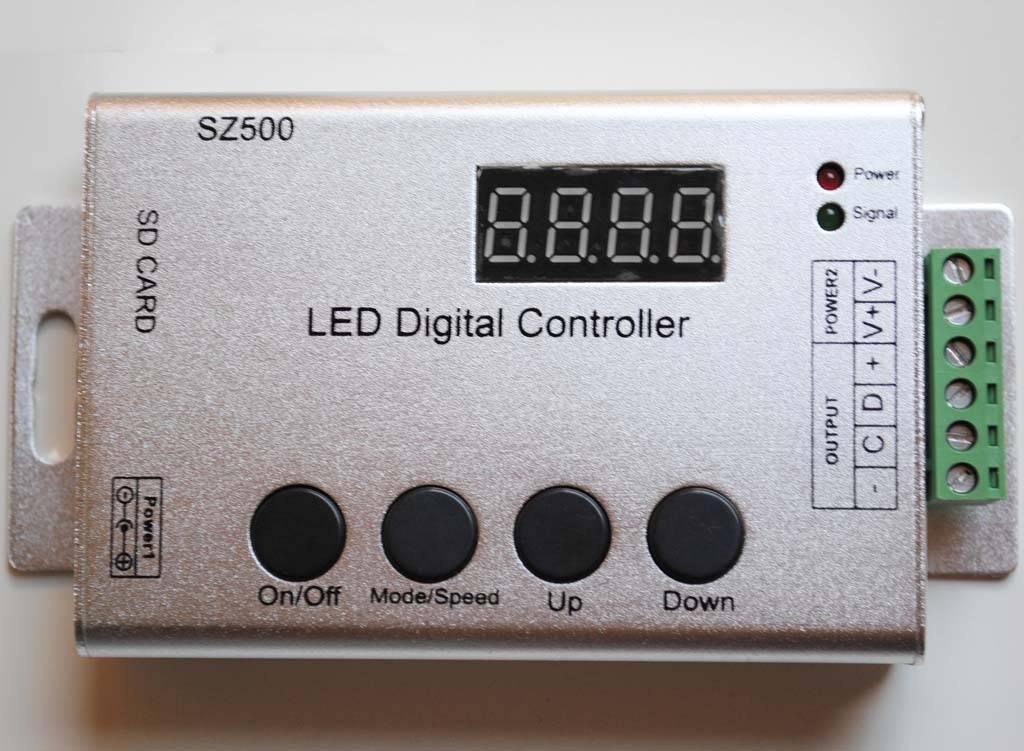 Controllore programmabile per Strisce LED Digitale con software di editing