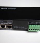 DMX 512 RGB Decoder para tiras LED RGB