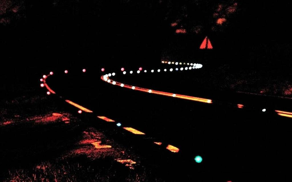 Reflector del camino LED Solar