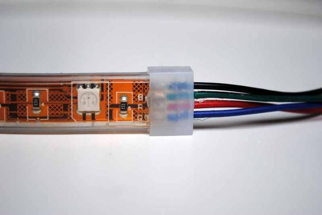 led strip rgb flexible waterproof ip68 30 leds m per. Black Bedroom Furniture Sets. Home Design Ideas