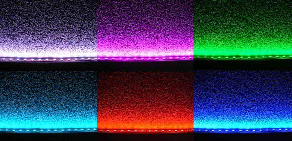 RGB Multicolor 60 LED / m Komplett