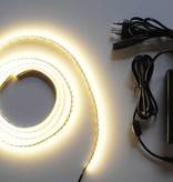 Warm White 120 LED/m Complete