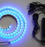 Blau 60 LED / m Komplett