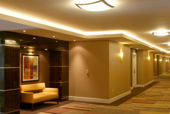 Led Strips Are Widely Used Here And The Effect Is Great Strip Placed From Sight In A Cove Creating Beautiful Of Lighting An