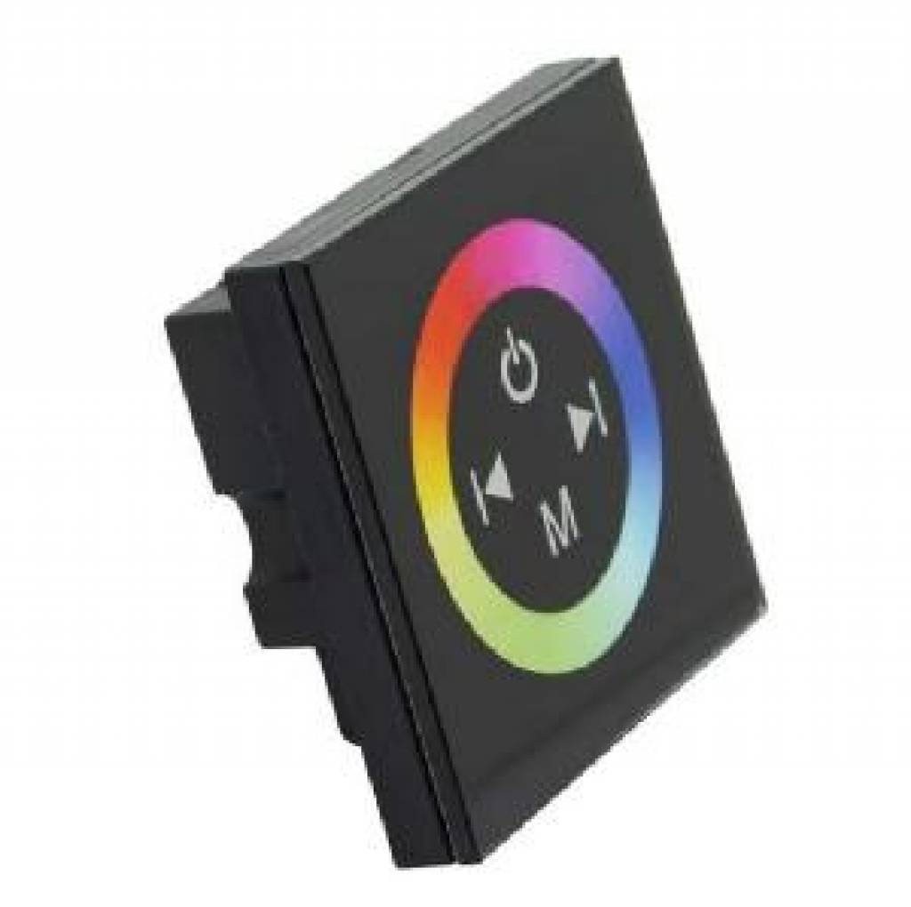 LED RGB muurdimmer met touch-panel