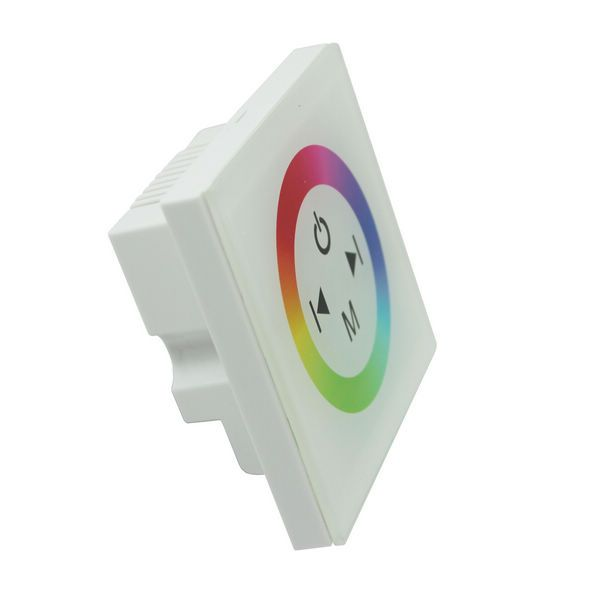 LED Wanddimmer RGB Touch-Panel