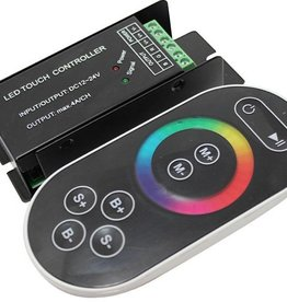 Controllore RGB con Touch-Wheel - Nero - 8 Key