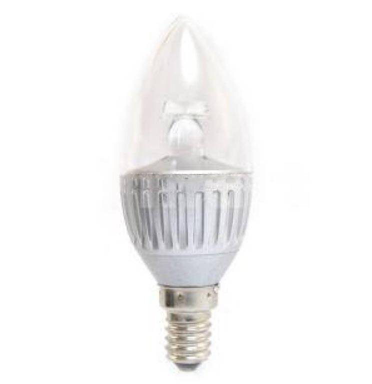 Bombilla LED E14 5 Watt (LED Candle)