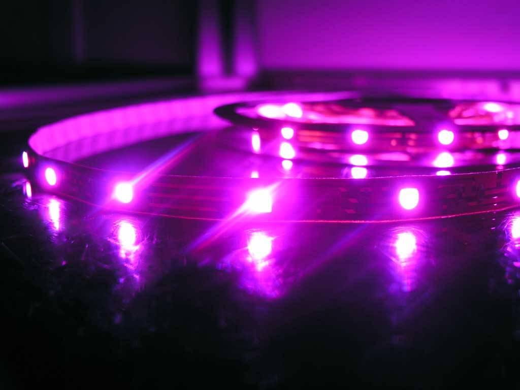 RGB Multicolor 30 LED / m completa - 5 Meter Set