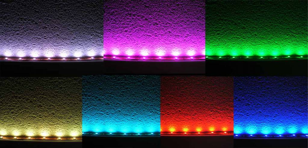 RGB Multicolor 30 LED / m - 5 Meter Komplett - In Blisterverpackung