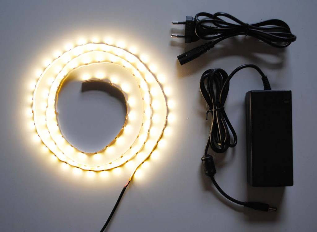 Warm White 60 LED/m Complete