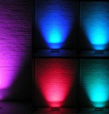 LED Wall Washer 24 Volt 12x1W RGB DMX