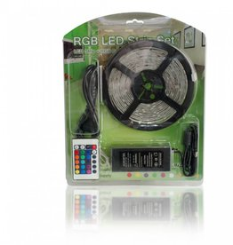 RGB Multicolor 30 LED / m completa - 5 Meter Set