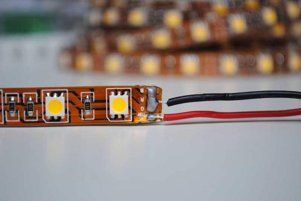 Tira LED Flexible 5050 60 LED/m Rojo - por 50cm