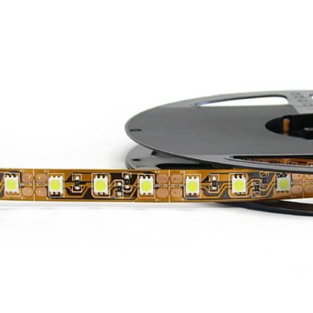 Tira LED Flexible 5050 60 LED/m Verde - por 50cm