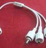 3-Weg splitter kabel - Waterproof