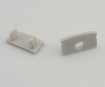 Tapa de extremo para perfil 5 mm