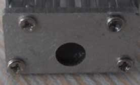 End cap for aluminium profile 9mm