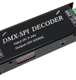 DMX a SPI Decoder (Digital LED Strip Pixel)