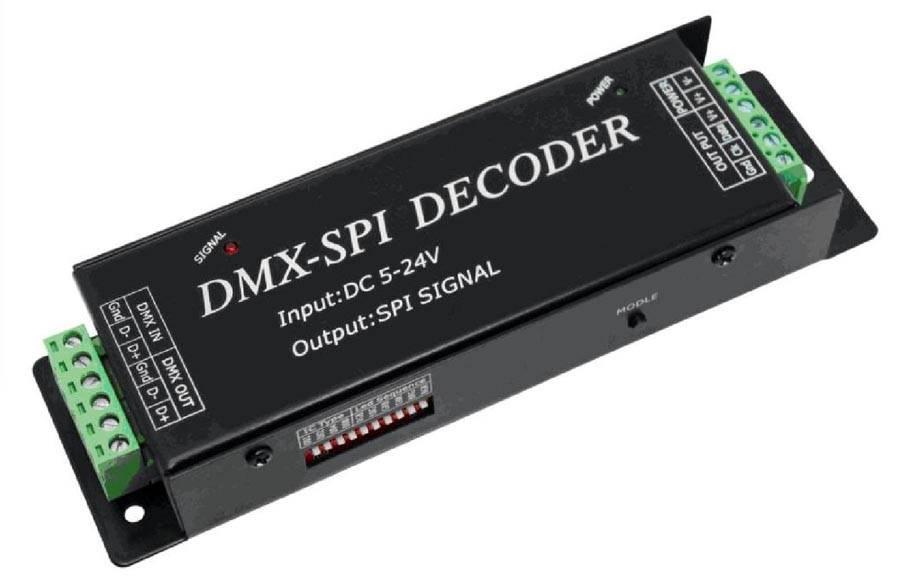 DMX zu SPI (Digital LED-Streifen) Decoder