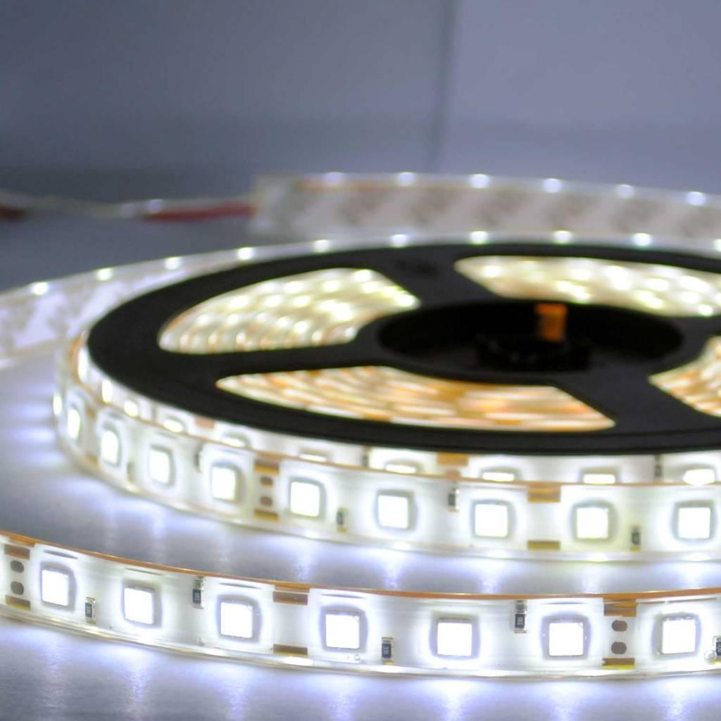 led en bande tanche 5050 60 led m blanc par 50cm. Black Bedroom Furniture Sets. Home Design Ideas