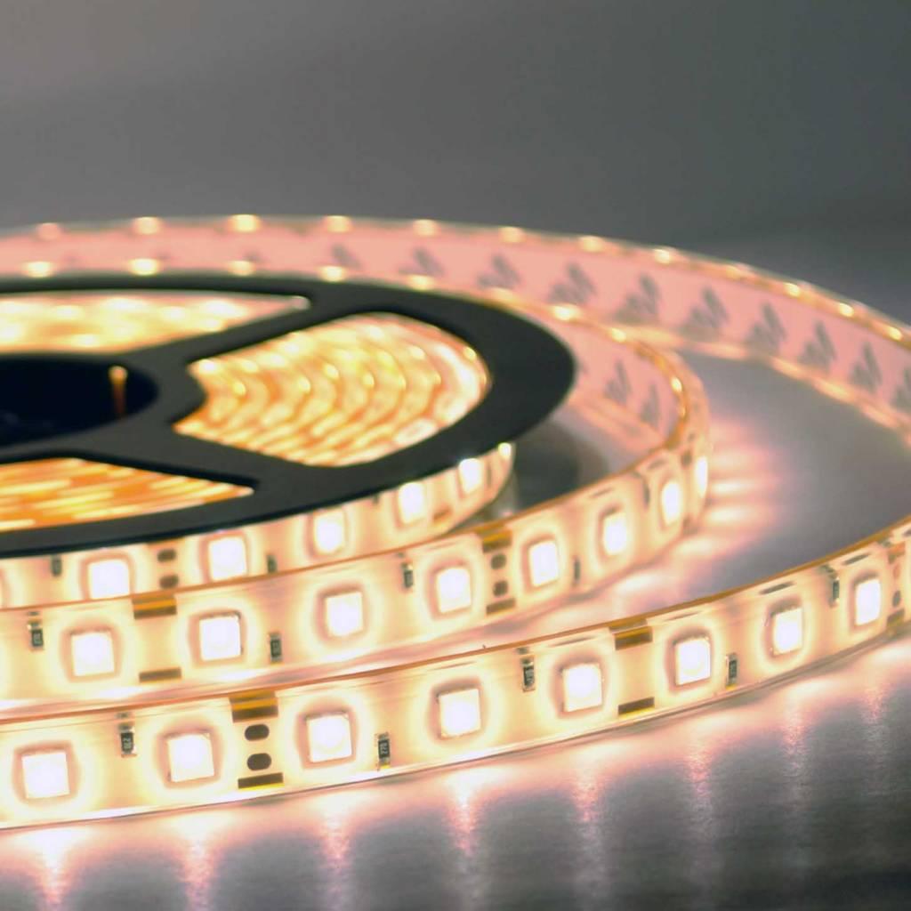 Tira LED Flexible Impermeable 5050 60 LED/m Blanco cálido - por 50cm