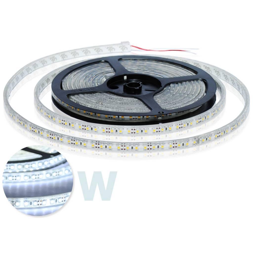 Striscia led impermeabile 120 led m bianco per 50cm for Striscia led adesiva