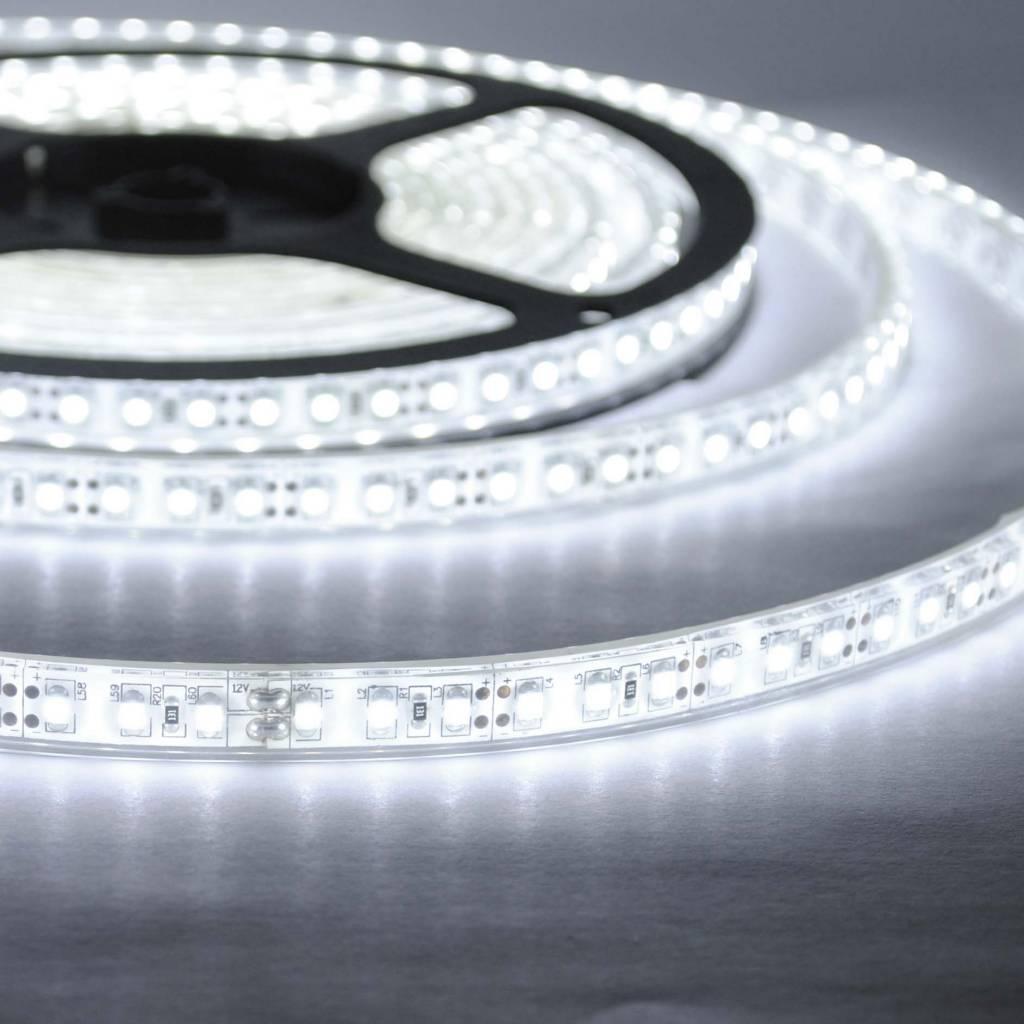 led streifen wasserdicht 120 led m weiss pro 50cm. Black Bedroom Furniture Sets. Home Design Ideas