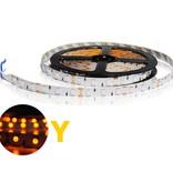 LED en bande auto-adhésive 5050 60 LED/m Jaune - par 50cm