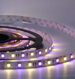 LED Strip RGB-WW 60 LED/m Flexible - per 50cm