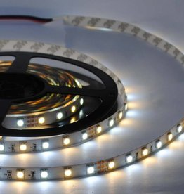 Tira LED Flexible 5050 60 LED/m - Blanco cálido ~ Blanco - por 50cm