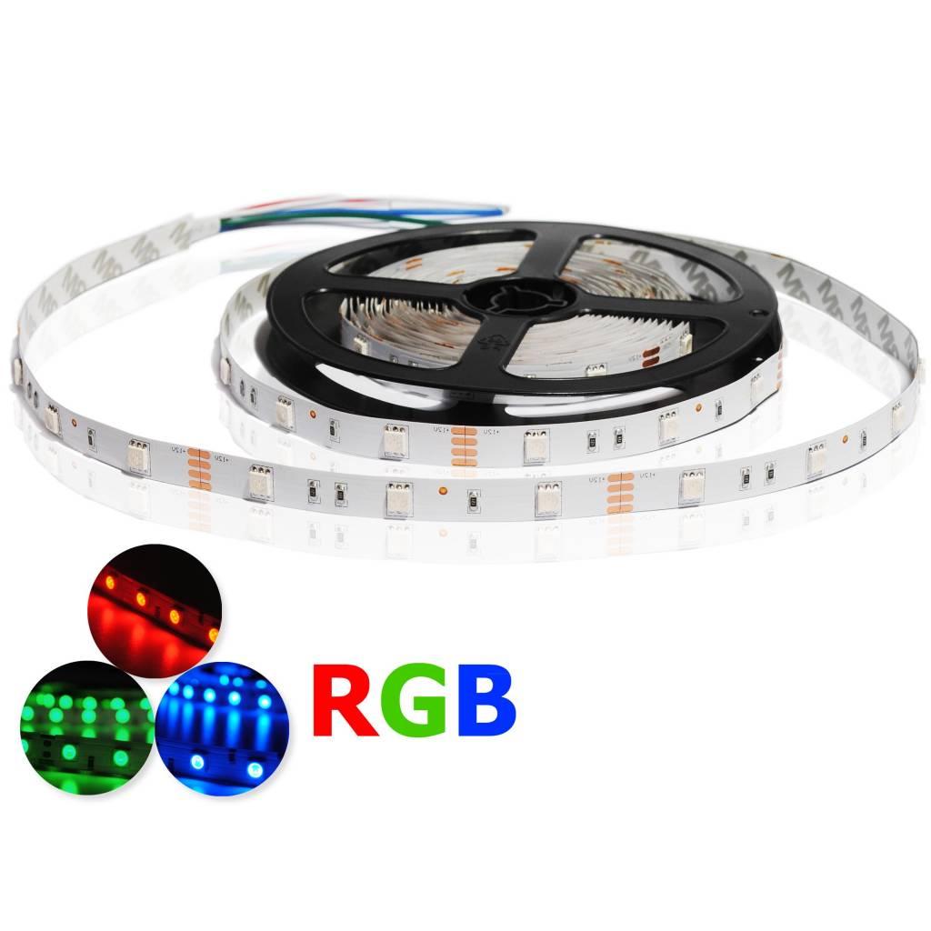 striscia led rgb 30 leds m per 50cm