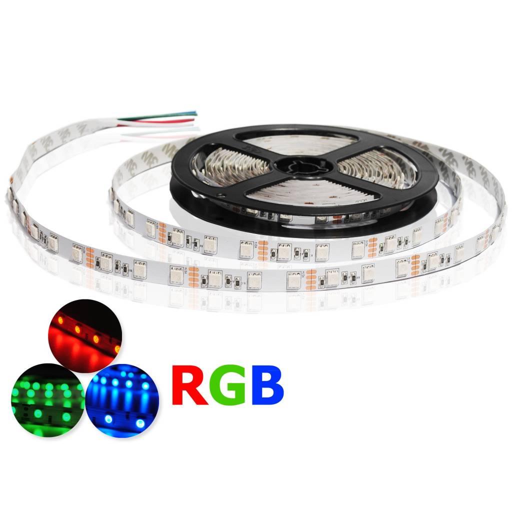 LED Strip RGB 60 LED/m Flexible - per 50cm