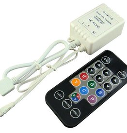 Mini Digital LED Strip Controller with IR remote