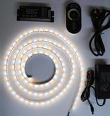 Weiß / Warm Weiß einstellbar 60 LED/m LED Streifen Set