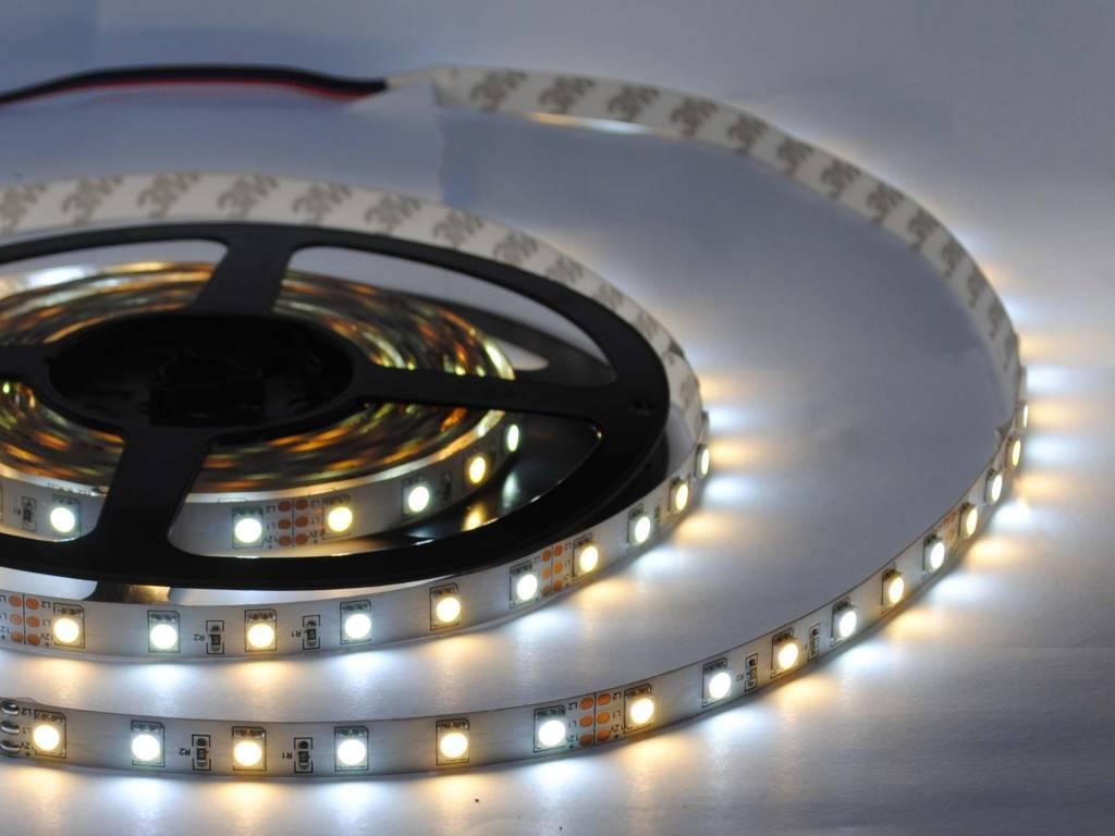 Tira LED temperatura de color ajustable 60 LED/m Juego completo