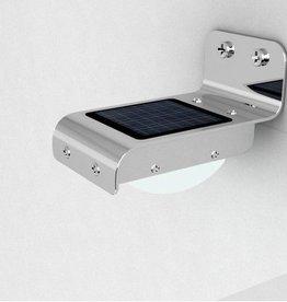 Luz LED solar exterior - lámpara de seguridad para el hogar