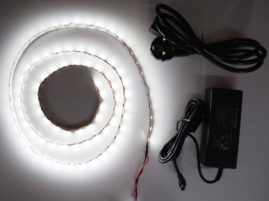 LED Strip Set Wit 5050 60 LED/m