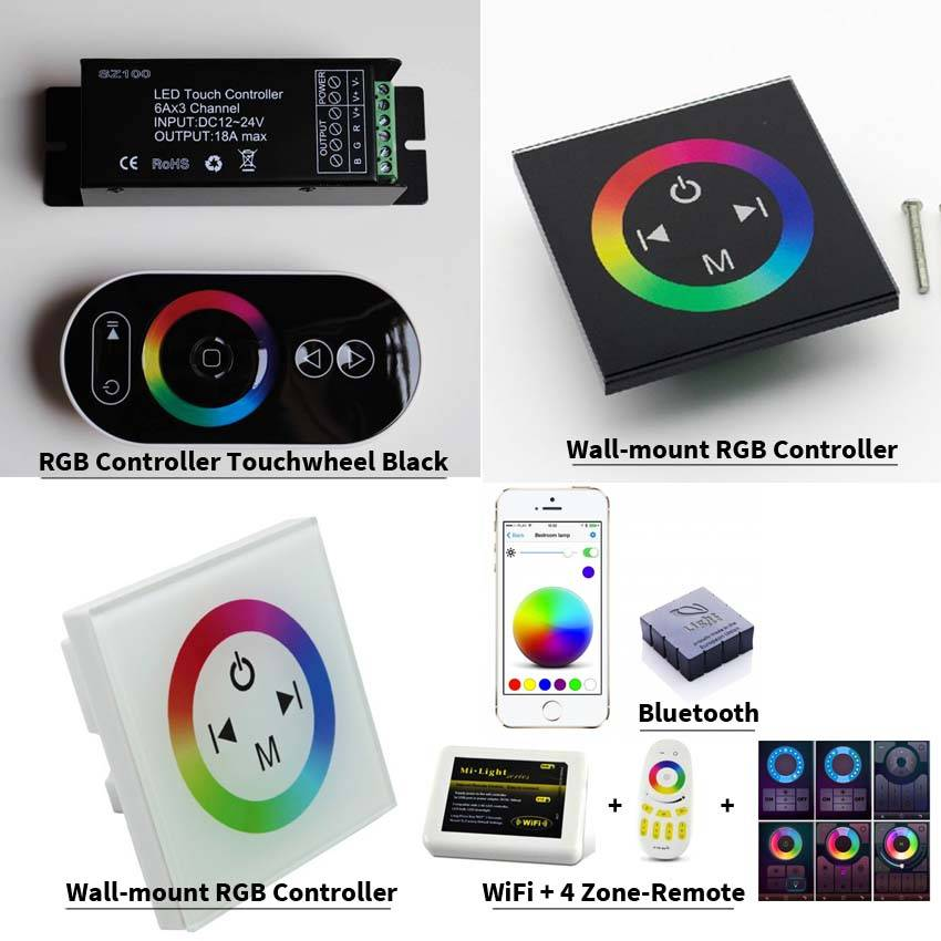 Bande LED RVB Multicolore 30 LED / m Kit