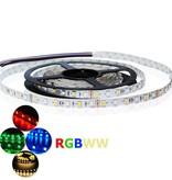 Tira LED Flexible 60 LEDs/m RGB-WW Solo Chip - por 50cm