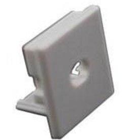 Cappuccio terminale per profilo in alluminio quadrato
