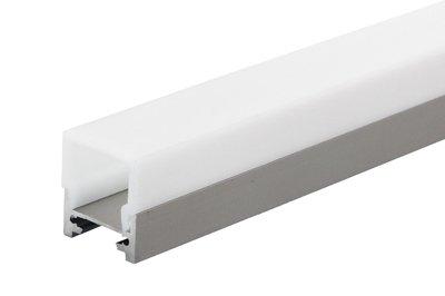 Square aluminium profile 1 Meter