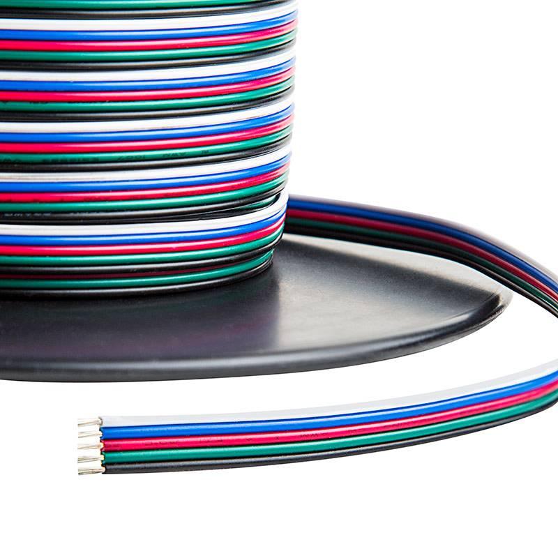 Cable (RGBW 5 hilos) por metro