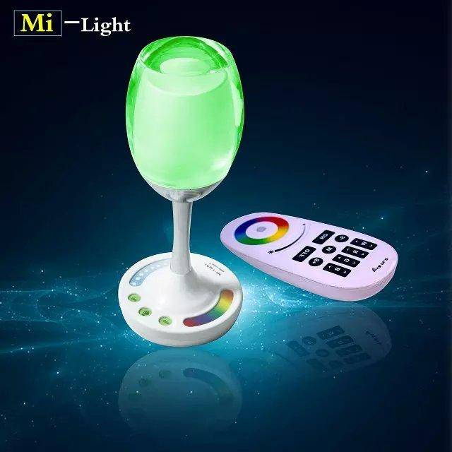 RGBWW LED Wineglass Table-Lamp with WiFi
