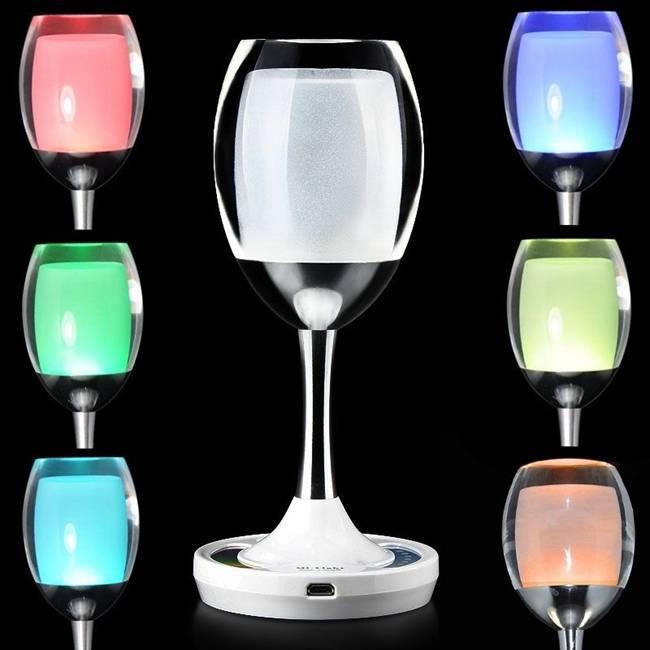 Weinglas Tischleucht RGBWW LED 2W WiFi