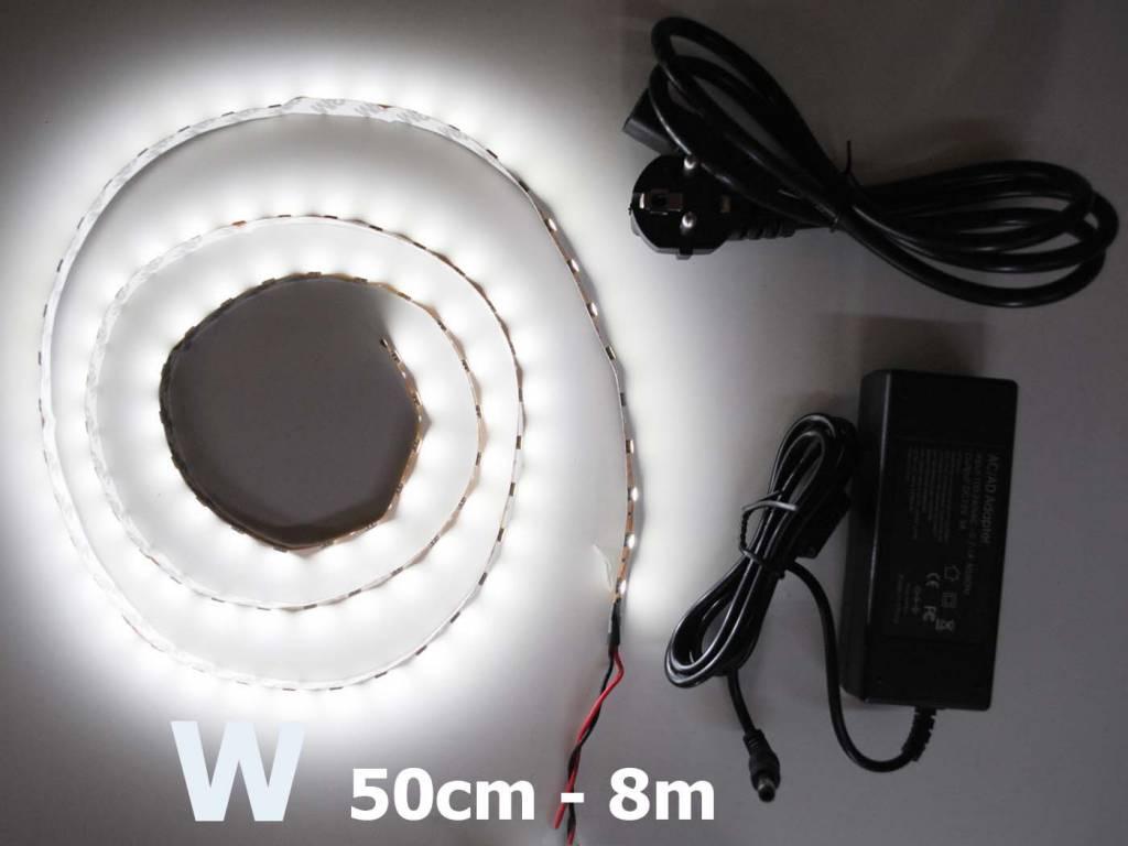 Bande LED Blanc 5050 60 LED / m Kit
